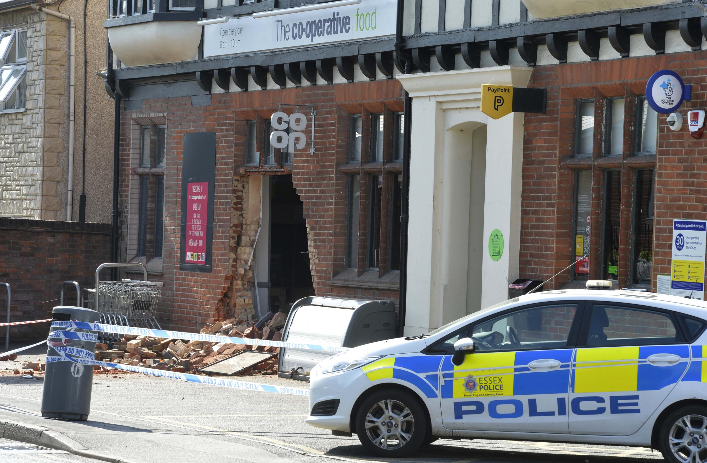 Co-ops to install steel bollards in bid to curb spate of ram raids