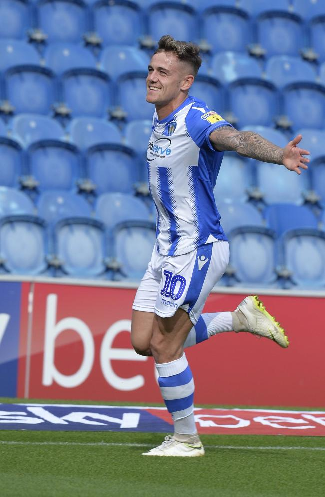 Sammie Szmodics in action