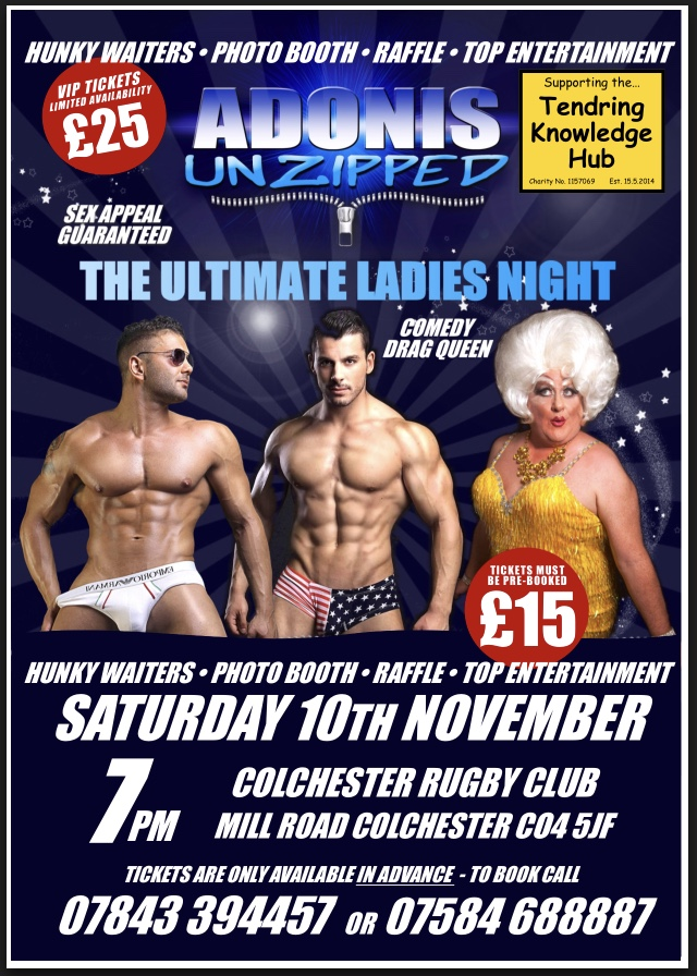 ADONIS UNZIPPED - THE ULTIMATE NAUGHTY NIGHT OUT