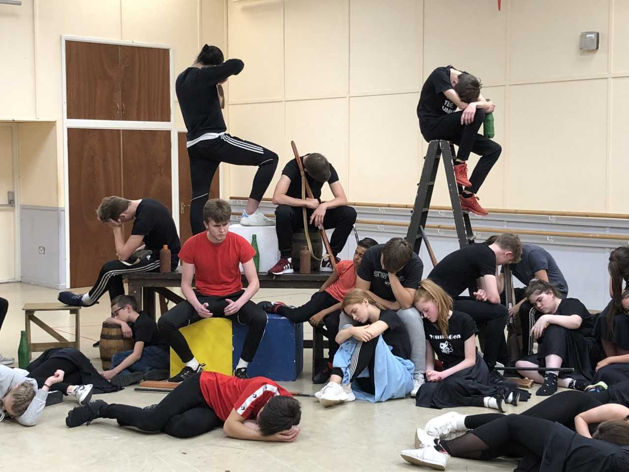 Theatre group for youngsters celebrating 50 years with Les Mis performance
