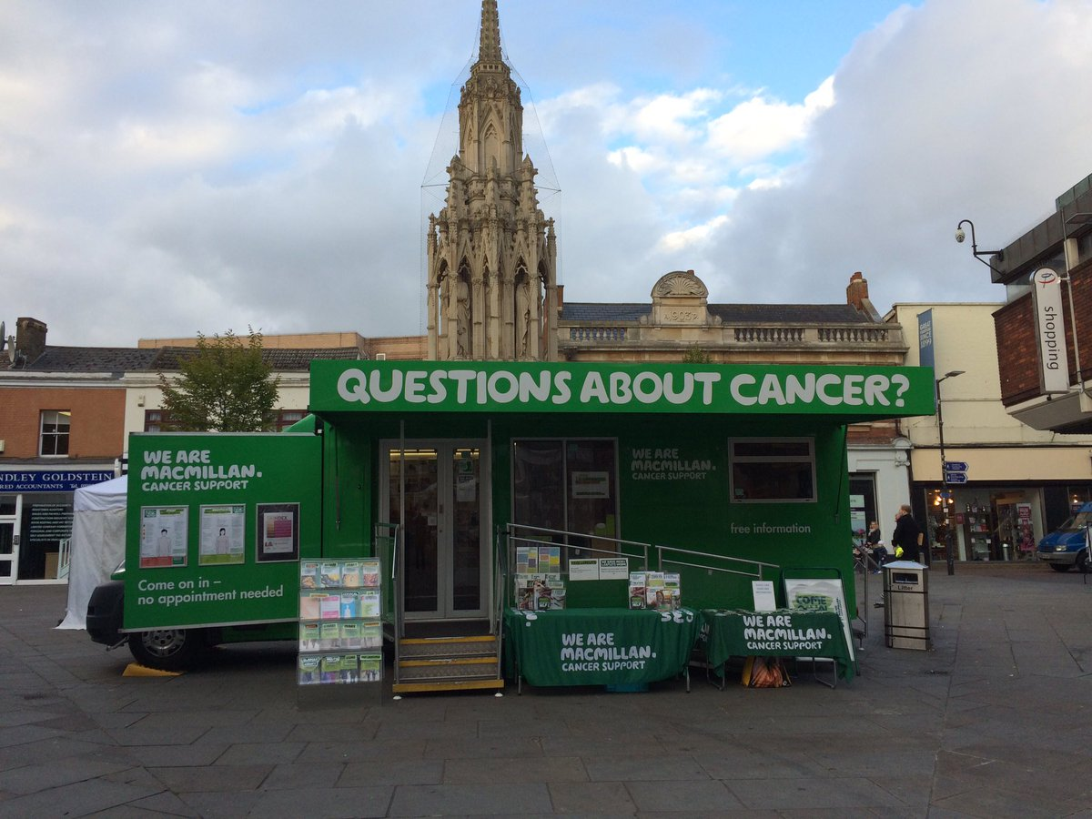 Macmillan Cancer Support Information Service at Clacton Air Show