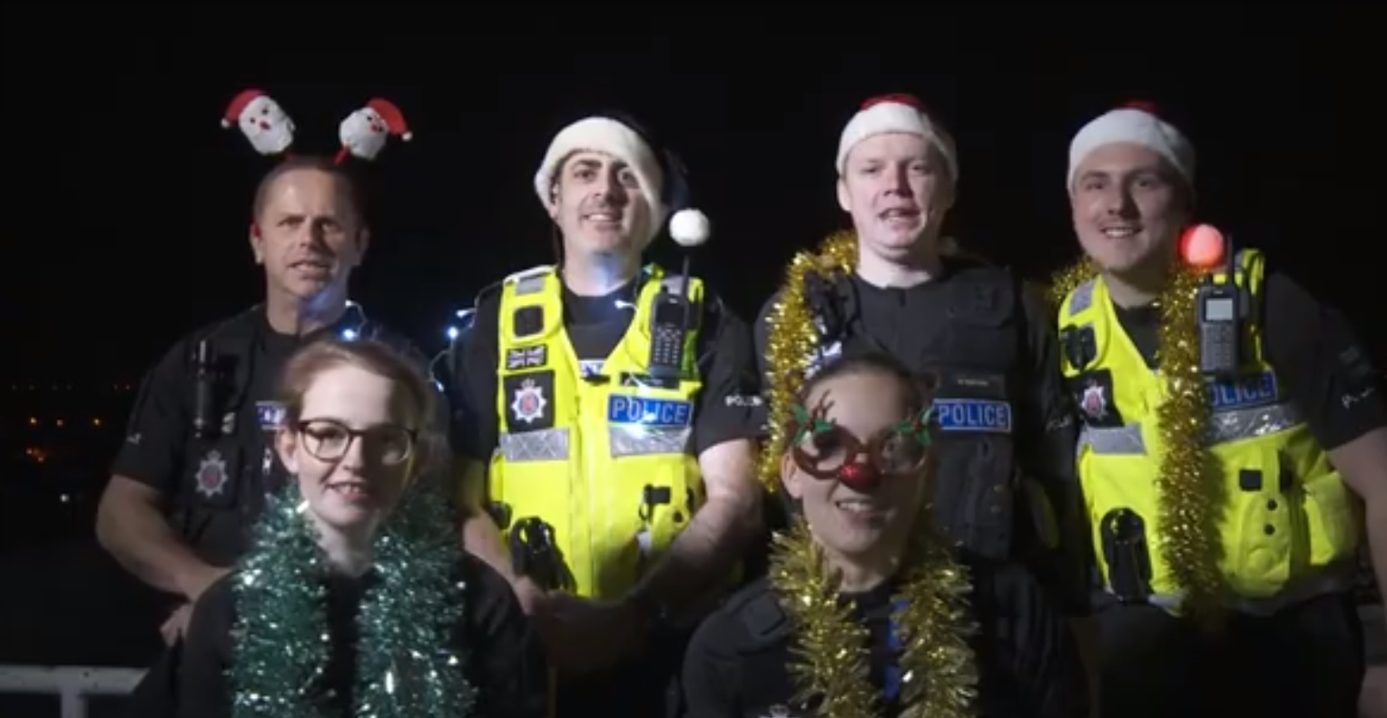 Volunteer police put together festive song to keep you safe this Christmas