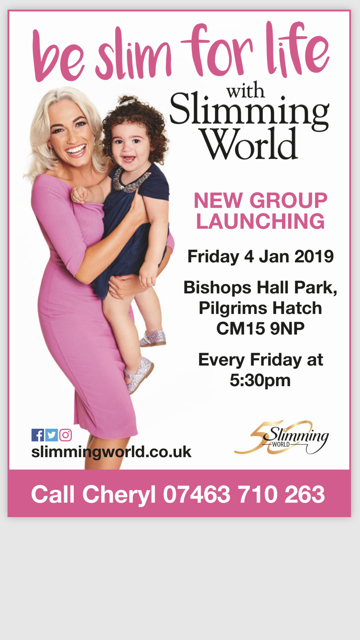 Brand New Slimming World Group Launching
