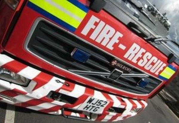 Four rescued from smash on country lane