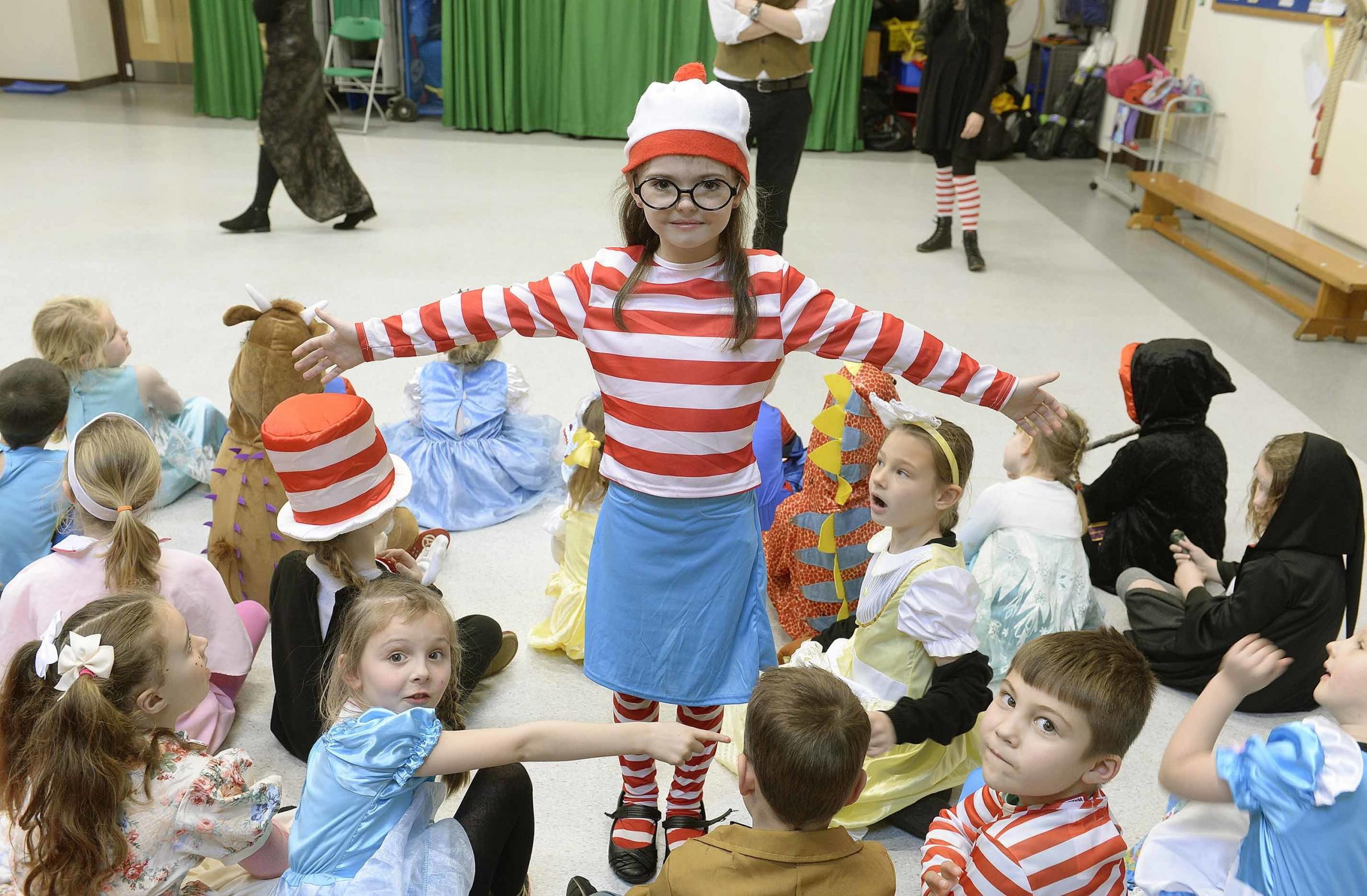 Kaci Holmes as Where's Wally
