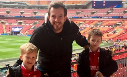 Dream - Dan Humphries with sons George (left) and Liam