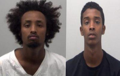 Sadiq Ali and Abdimajid Mohamed recieved more than a year in prison each