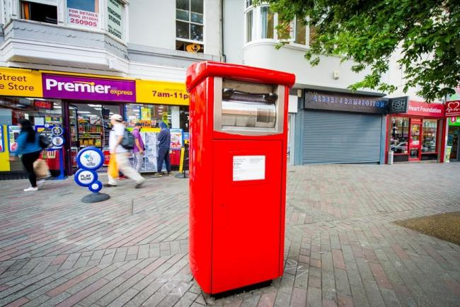 The parcel postboxes being introduced by Royal Mail